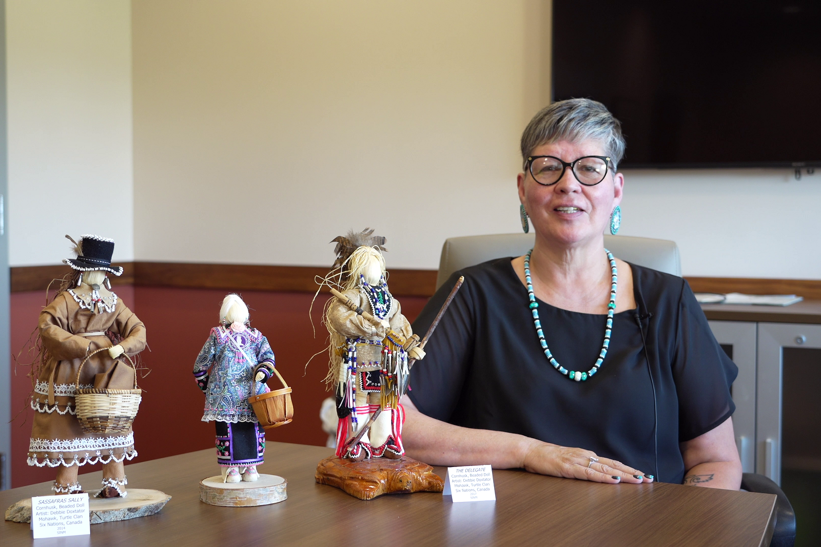 Johnna Crouse talks about Cornhusk Dolls